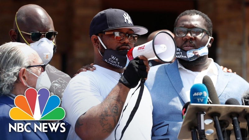 'Educate Yourself ' George Floyd's Brother Calls For Peaceful Protests NBC News NOW
