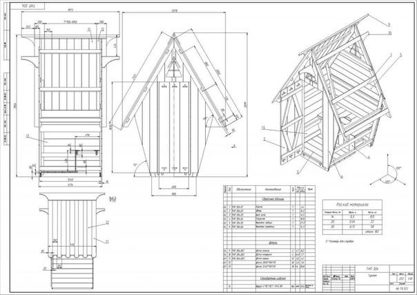 Как построить туалет на даче Казалось бы, какая простая вещь дачный туалет на участке, но построить его с соблюдением всех норм и правил усложняет задачу. Хозяину дачи необходимо не только план