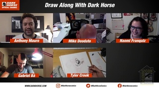 Draw Along With Dark Horse |  2020
