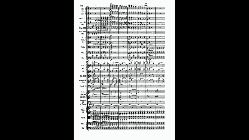 Borodin Symphony No 2 The Bogatyrs Score
