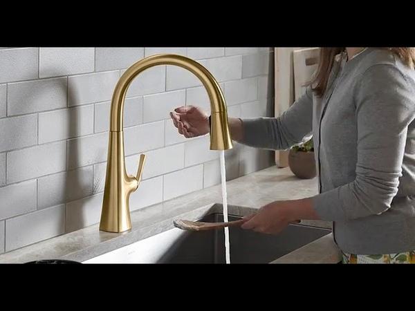 Kohler Graze Touchless Kitchen Faucet