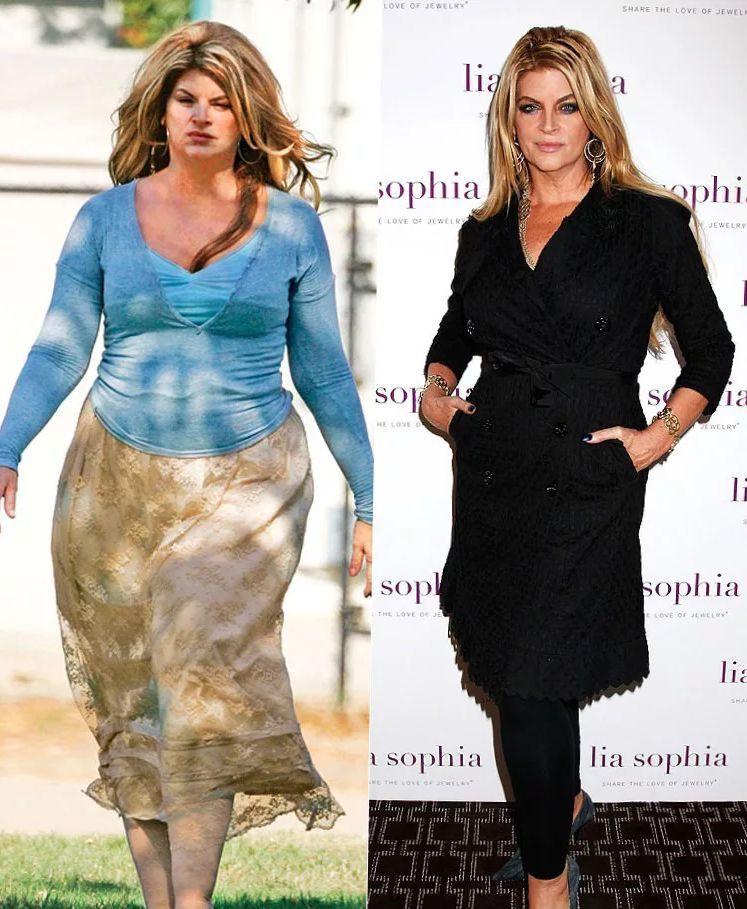 Керсти Элли похудела на 37 кг.