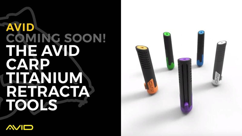 COMING SOON THE AVID CARP TITANIUM RETRACTA TOOLS