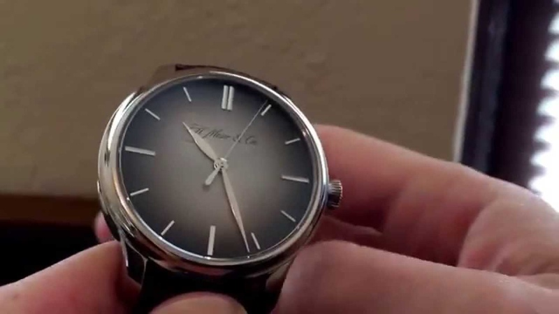 H. Moser and Cie Monard with Smoke Fume dial REVIEW