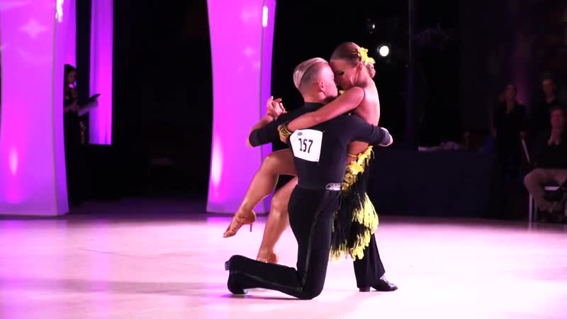 Brooklyn DanceSport Club Dmitry and Olena Rumba Solo