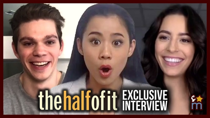 THE HALF OF IT Cast Talk Fan Reaction Love Letters | Leah Lewis, Alexxis Lemire, Daniel Diemer