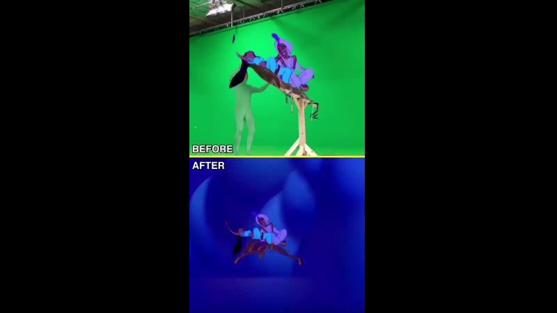 How they made Aladdin