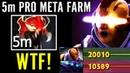 5MIN Madness Mask!! Anti Mage 2x Networth SPECTRE TOP 1 MMR Crazy Meta Farm Dota 2 Pro Carry Guide