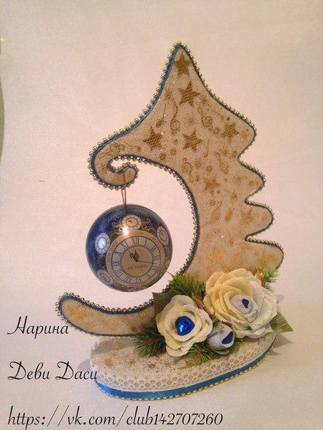 Добрый день дорогие мастерицы, рукодельницы, мамы и бабашки....Разрешите поделиться с вами с моими новогодними работами в стиле свит дизайн(букеты и композиции из