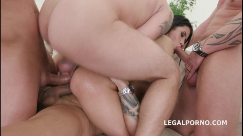 Nicole Black lesson number 8, 10on1 DAP Gangband Balls Deep Anal, DAP, TP, Gapes, Swallow