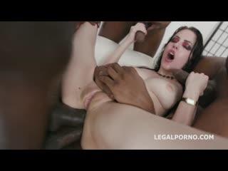 Anna de Ville - Interracial, Gangbang, DAP, Anal, Gape, Porn, Порно