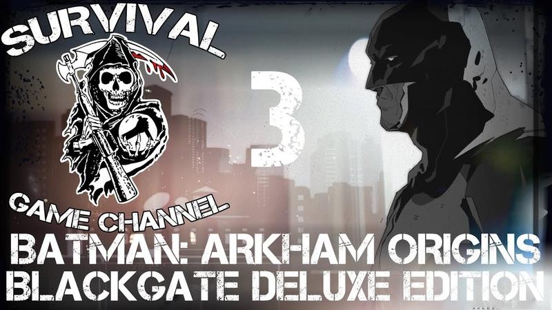 НАЕМНИК — Batman Arkham Origins Blackgate Deluxe Edition прохождение [1080p] Часть 3