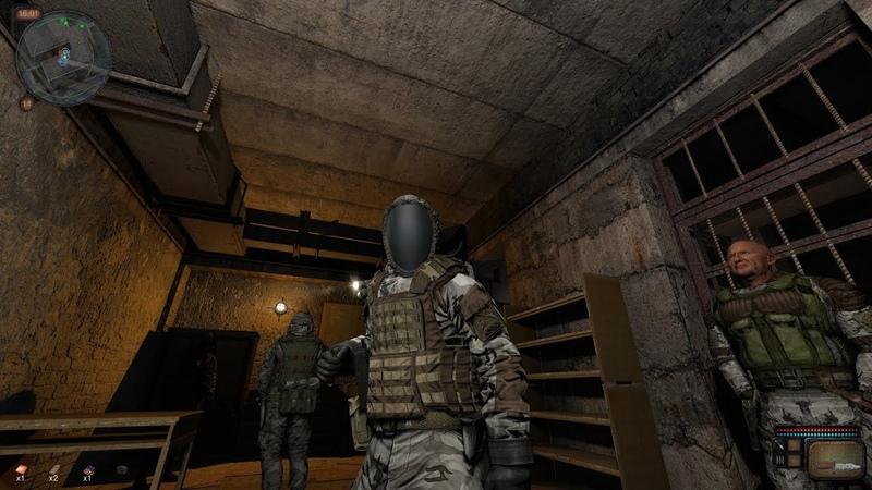 S.T.A.L.K.E.R. - Call of Chernobyl 1.4.22 v.5.04 битва с бойцами группировки Монолит