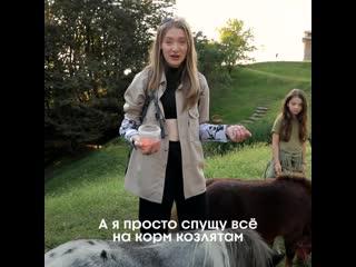 Миногарова промотала деньги на еду для животных. Орёл и Решка. Россия
