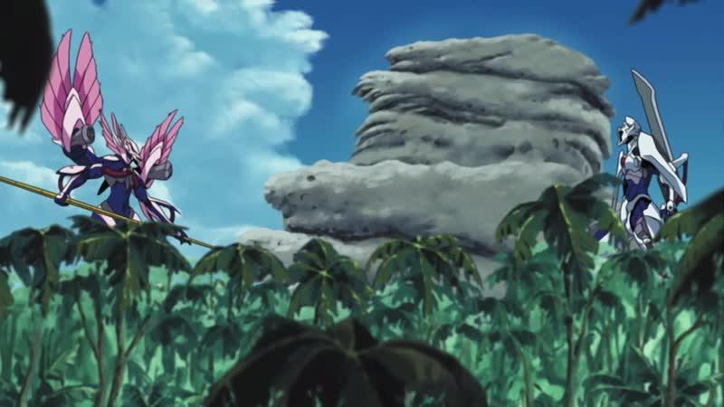 Огнём и мечом 14 26 серии Многолосая озвучка Mega Anime Gun x Sword