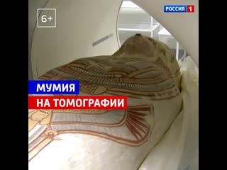 Ученые Курчатовского института провели компьютерную томографию египетской мумии  Россия 1