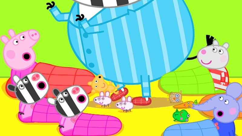 Peppa Pig Official Channel Peppa Pig's Big Sleepover Party