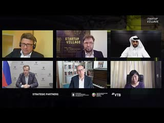 Заседание пленарной сессии международной онлайн-конференции Startup Village Livestream20