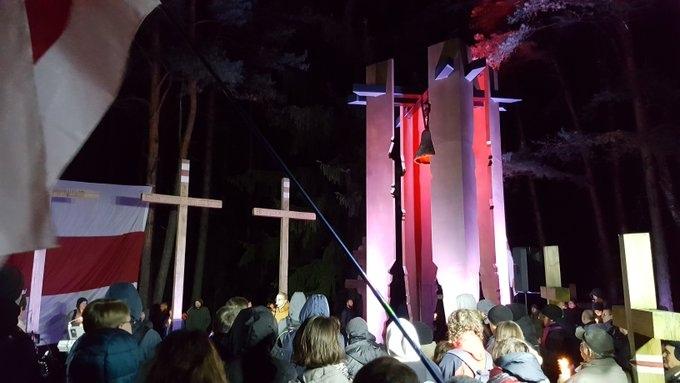 «Ночь расстрелянных поэтов» в Куропатах