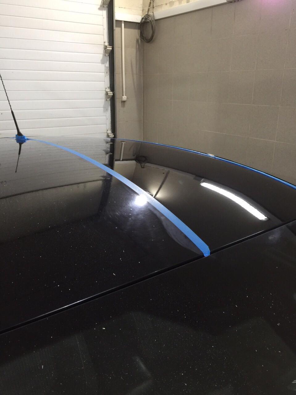 Полная полировка кузова Ford Focus
