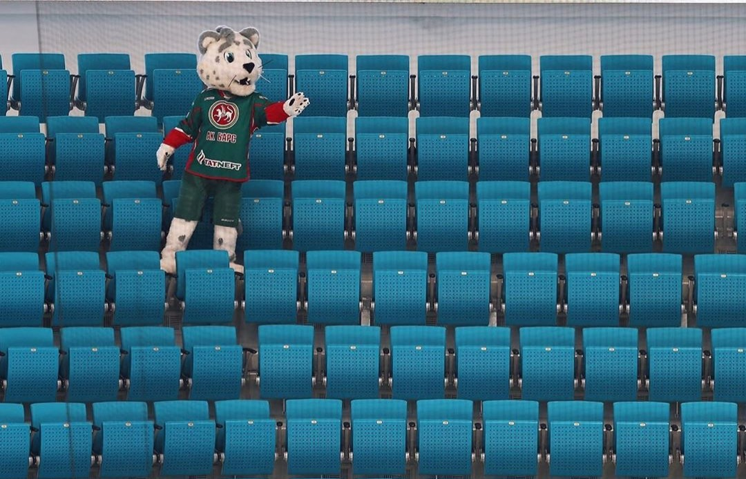Официальное заявление ХК «Ак Барс» о проведении матчей без зрителей. 13.03.2020