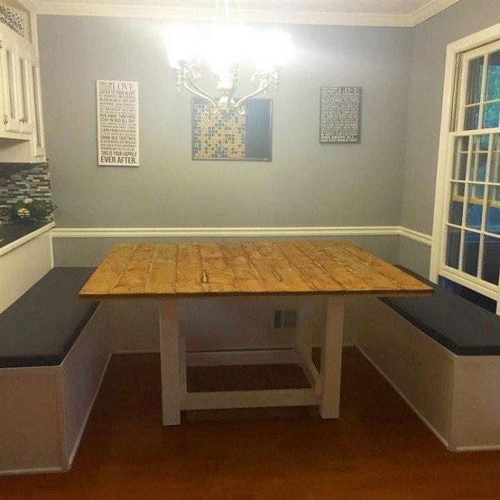 Когда руки растут из нужного места - самодельный кухонный уголок