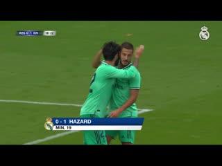 Первый гол Эдена Азара за Реал Мадрид