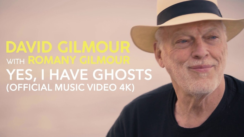 David Gilmour with Romany Gilmour Yes I Have Ghosts Official Music Video 4K