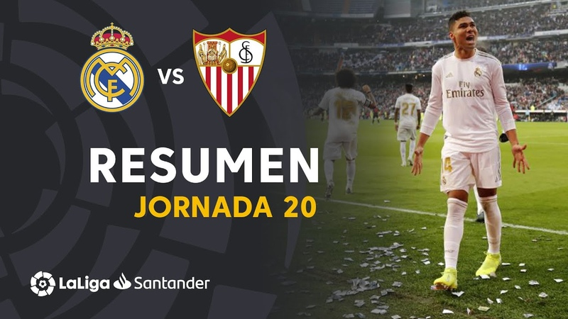 Resumen de Real Madrid vs Sevilla FC 2 1