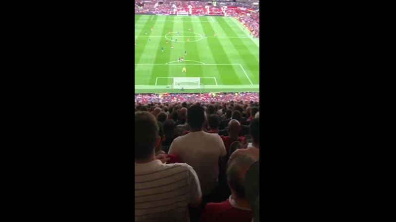 Rashford's second goal Absolute scenes in the Stretford End MUFC