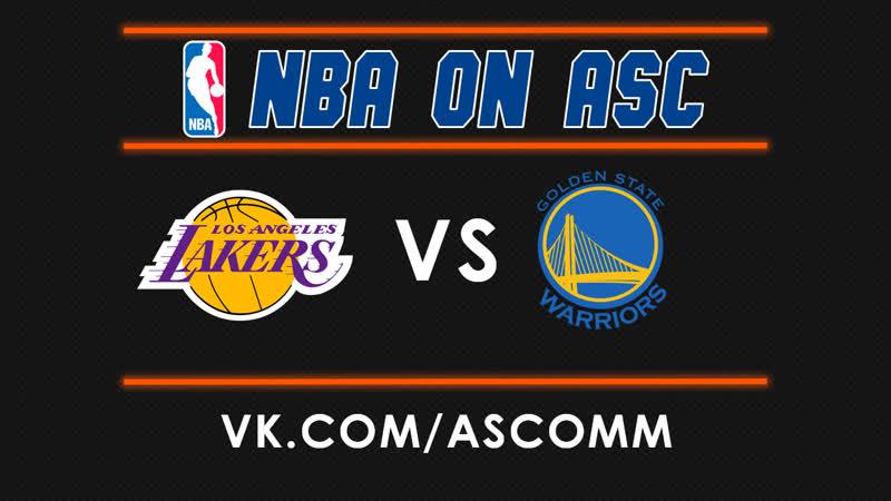 NBA Preseason | Lakers VS Warriors