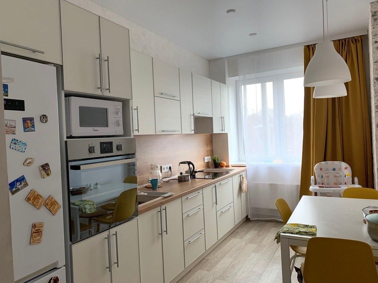 """В новой квартире сделали кухню с """"нуля"""""""