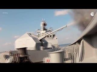 Совместные учения ВМФ и ВКС России в Средиземном море