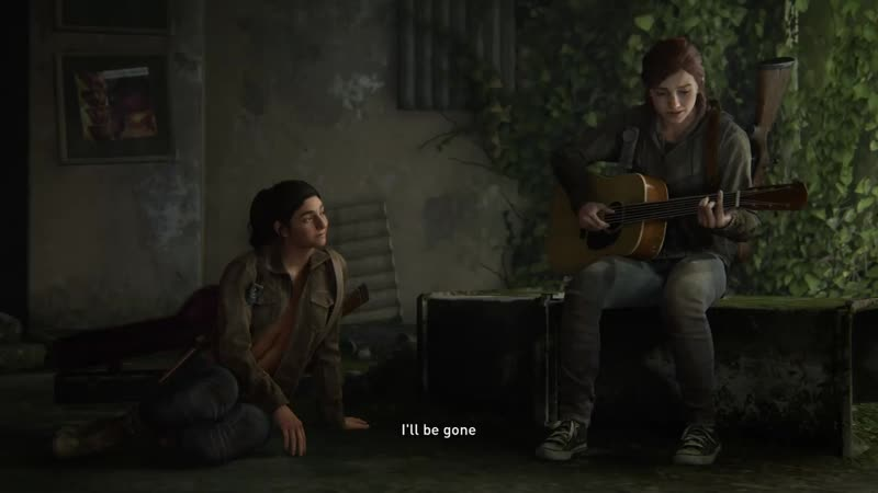 The last of us part 2 Take on me
