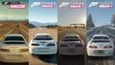 1998 Toyota Supra RZ All Forza Horizon Games Sound Comparison