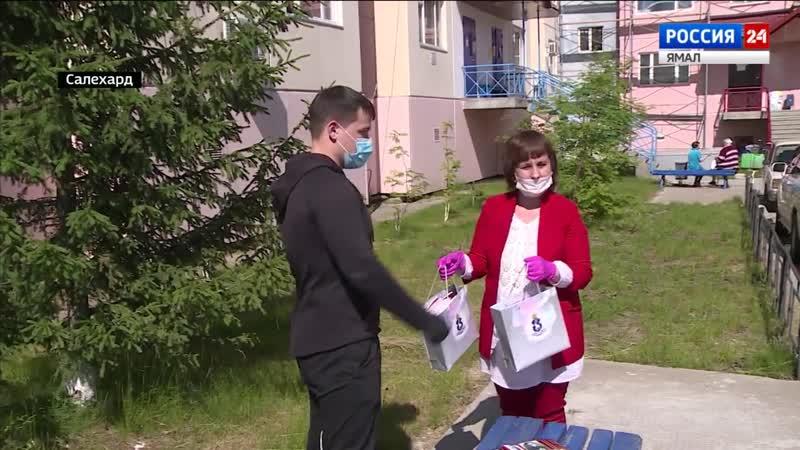 На Ямале выпустили тетради с портретами героев войны первую партию получили нуж