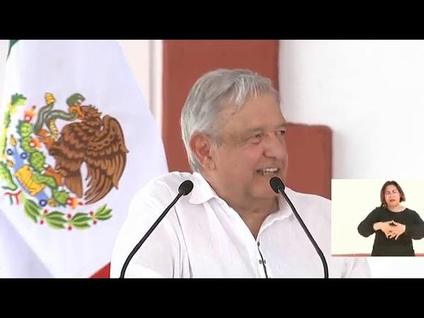 Andr s Manuel López Obrador Ixtepec Oaxaca rehabilitación del Ferrocarril del Istmo de Tehuantepec