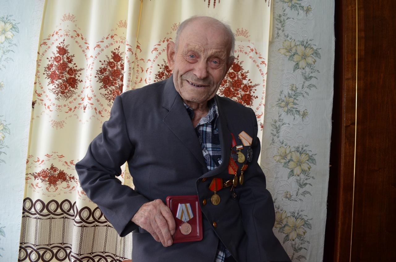 В Петровске продолжается вручение юбилейных медалей ветеранам Великой Отечественной войны