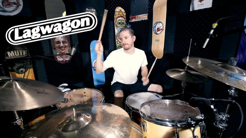 Lagwagon - May 16 (Livestream Drum Cover) - Kye Smith