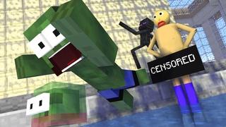 Monster School BALDI'S SWIMMING CHALLENGE - Mineraft Animation