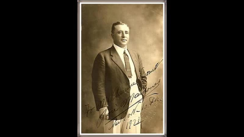5 Каватина Альфонсо из оперы Доницетти Лукреция Борджиа 1924