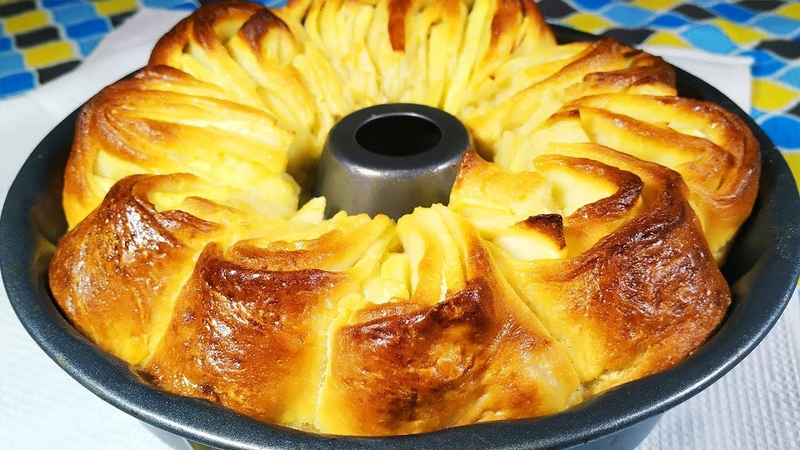 Никогда бы не подумала что ЭТО ТАК ВКУСНО Яблочный пирог вкуснее шарлотки
