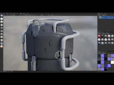 Live Brush Preview ArmorPaint
