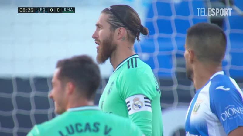 «Леганес» — «Реал Мадрид». Гол Серхио Рамоса