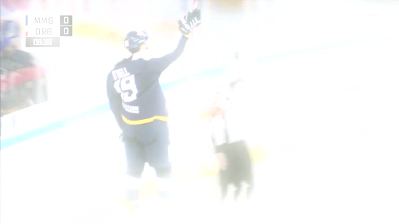 O'Dell beats Makarov with perfect wrister