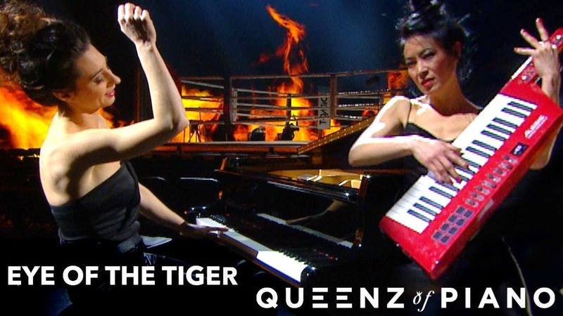 Queenz of Piano Eye of the tiger Survivor Cover