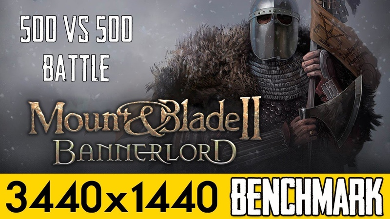 Mount Blade II Bannerlord - PC Ultra Quality (3440x1440)
