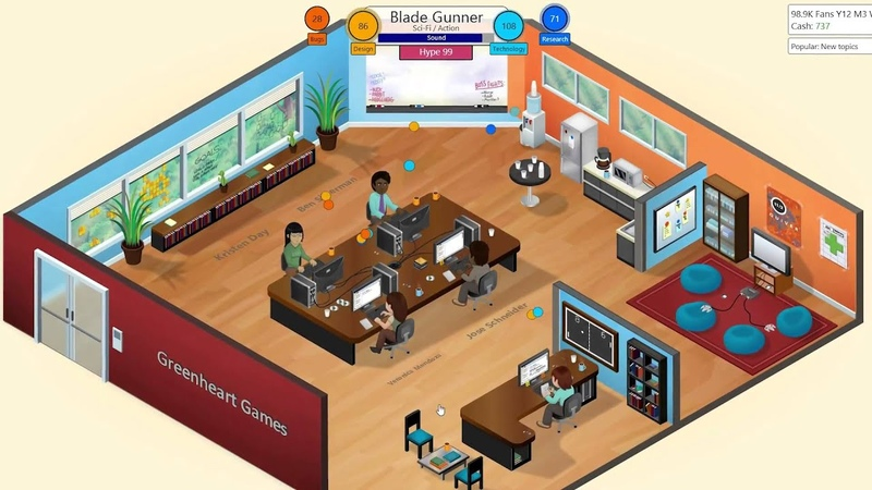 Game Dev Tycoon Steam Trailer