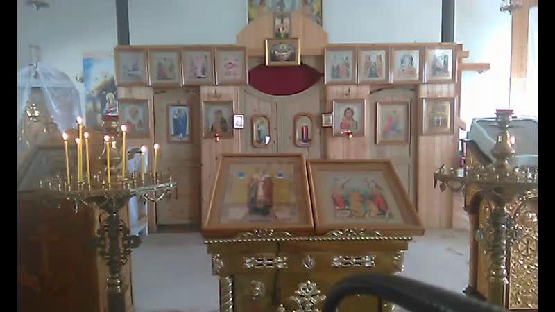 22 05 Литургия Табынск свт Николай Мир Ликийских