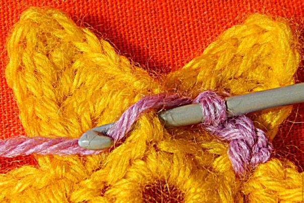 Мастер класс. Вязаная подставка для яиц Тюльпанчик., изображение №17